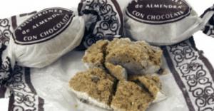 polvoron chon chocolate