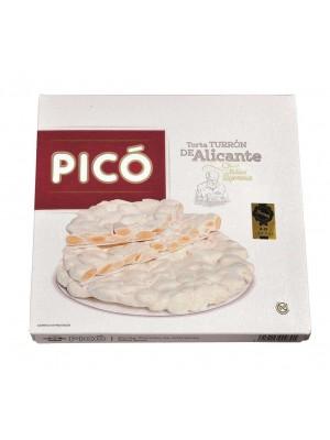 Caja de 15 unidades de Tortas de Turrón de Alicante Pico 200 grs