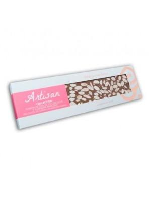 Turrón de Chocolate con Leche y Almendra Marcona Artisan Collection 220g