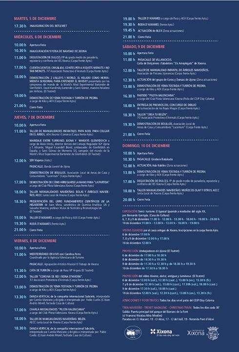 Eventos Feria del Turrón en Jijona