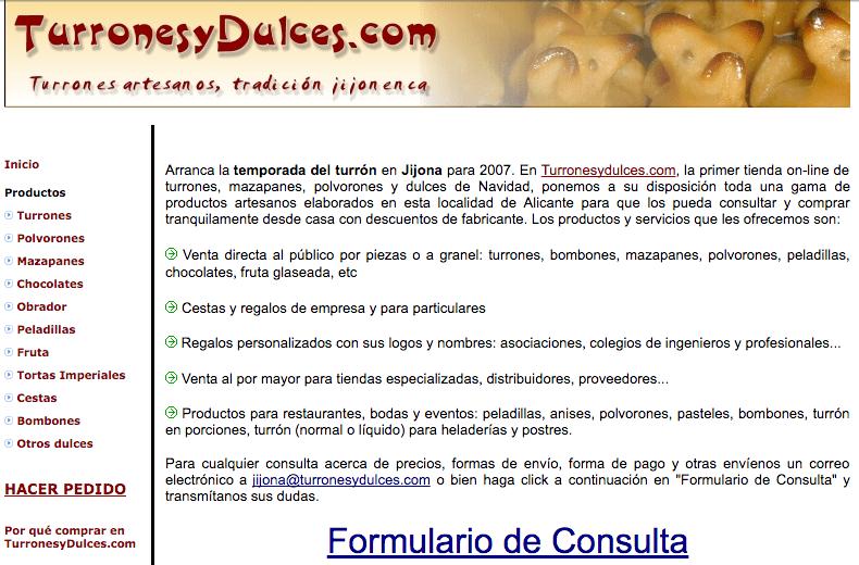 turrones 2005