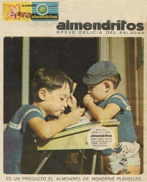 Los almendritos, de turrones El Almendro