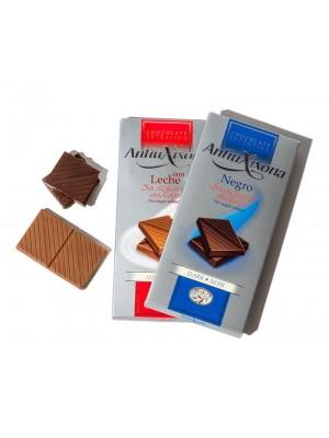 Chocolates Antiu Xixona sin azucar