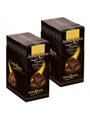 Chocolate Negro premium extrafino Antiu Xixona en Caja