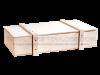 Turrón a la piedra en caja de madera