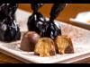 Bombones chocolate rellenos de turron