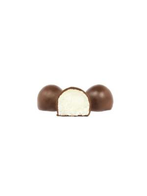 Bolitas de Coco bañadas de chocolate