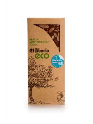 Turrón de Chocolate con Almendras Ecologico El Abuelo 200 grs.