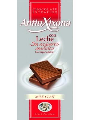 Chocolate con Leche sin azúcares añadidos Antiu Xixona Premium