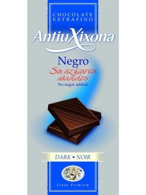 Chocolate Negro sin Azúcar Hacendado