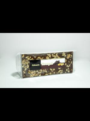 Turrón Nougat de Chocolate con Cacahuete - El Artesano/Aitana 300g