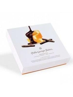 Orangettes chocolate fondant dark caja