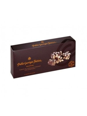 Turrón de Chocolate Fondant con Almendras Delicatessen 300g Pablo Garrigós Ibañez