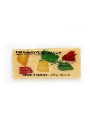 Turrón Fruta 300 grs.