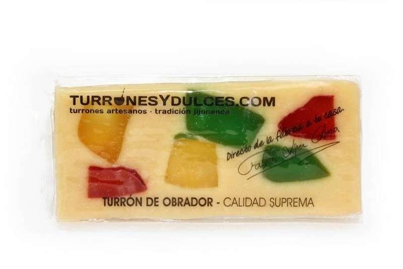 Turrón de fruta 300 gramos