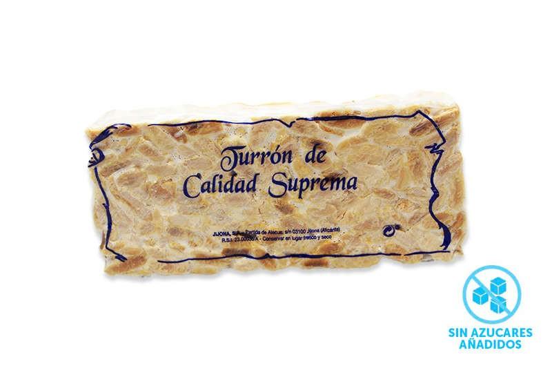 turron imperial sin azúcar