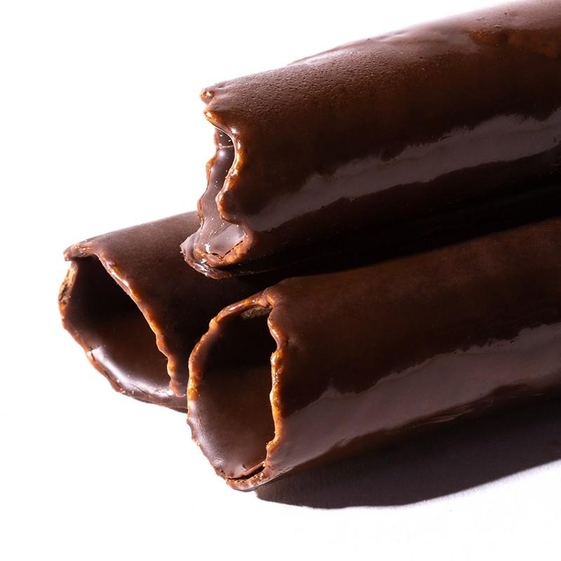 Barquillos de Chocolate Artesanos