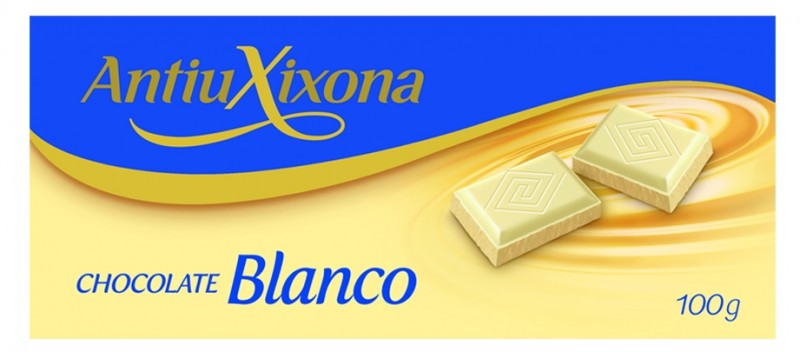 Chocolate Blanco Antiu Xixona