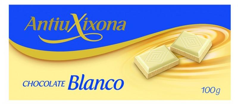 Chocolate Blanco Antiu Xixona