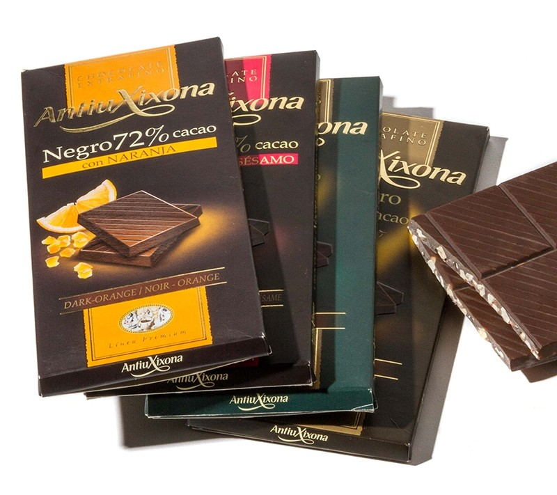 Lote Chocolates Antiu Xixona
