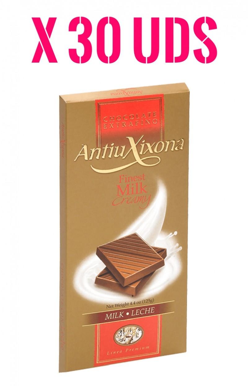 Caja Antiu Xixona chocolate con Leche extrafino Premium