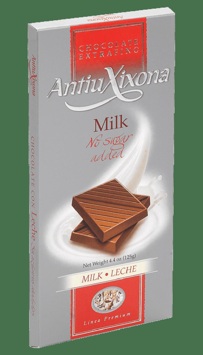 Chocolate con Leche sin Azúcar extrafino Premium