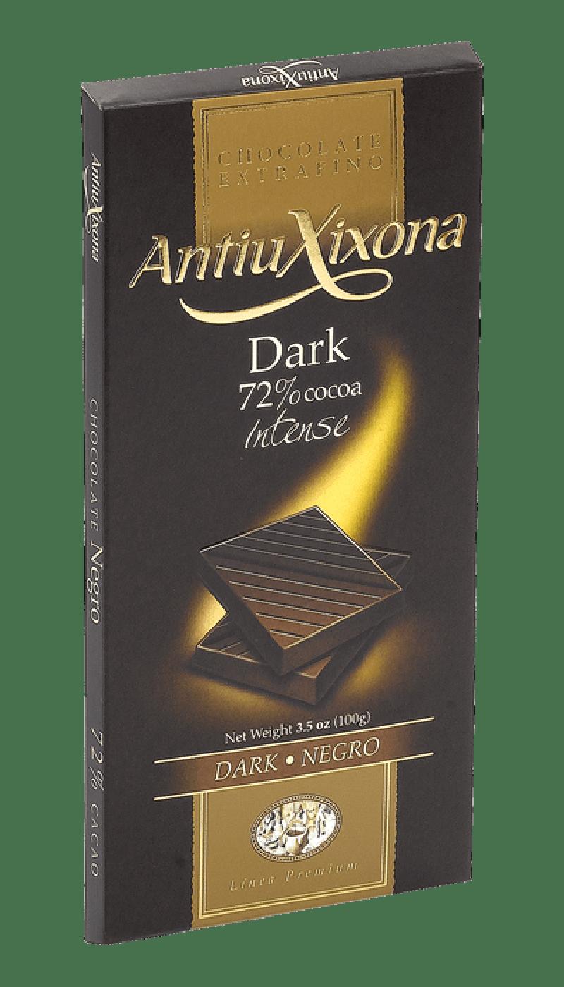 Chocolate Negro premium extrafino Antiu Xixona