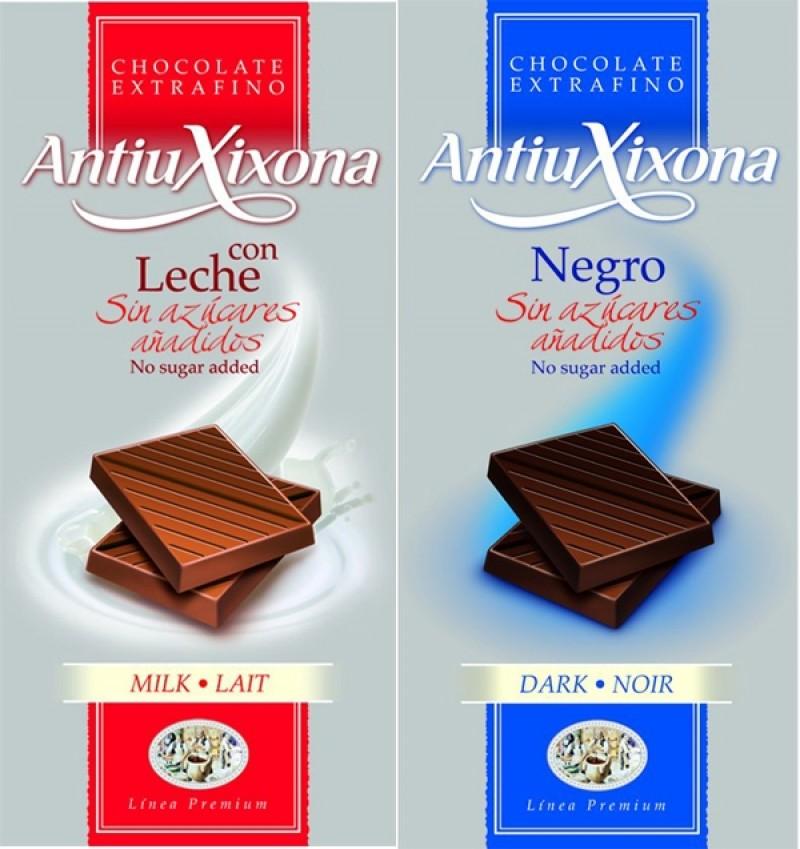 Chocolates hacendado sin azucar