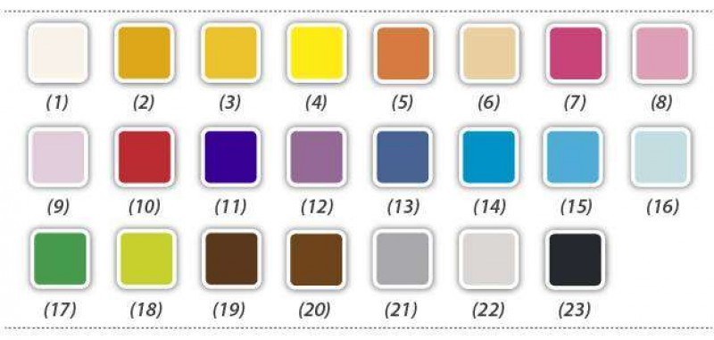 Paleta Colores Cubo Fondant