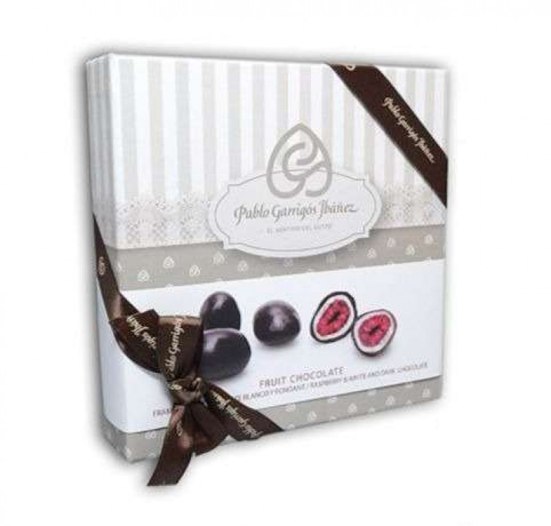 Fruit Chocolate Frambuesa & Chocolate Blanco y Fondant Vintage 100 g.