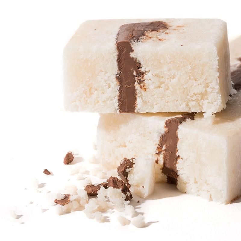 Turrón Coco y Chocolate tableta alargada
