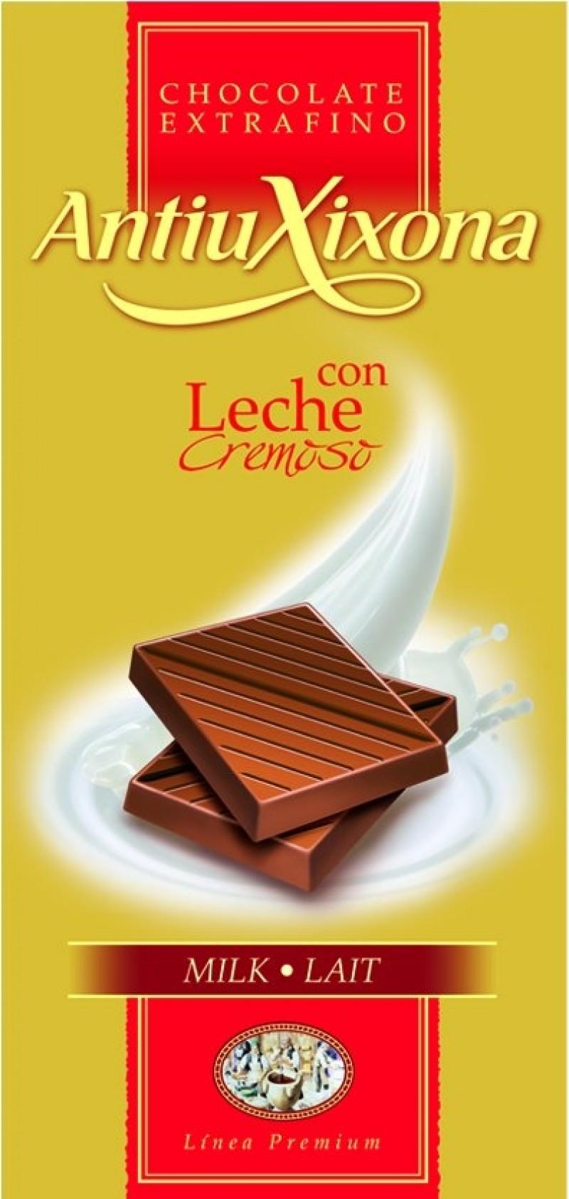 Chocolate con Leche Hacendado