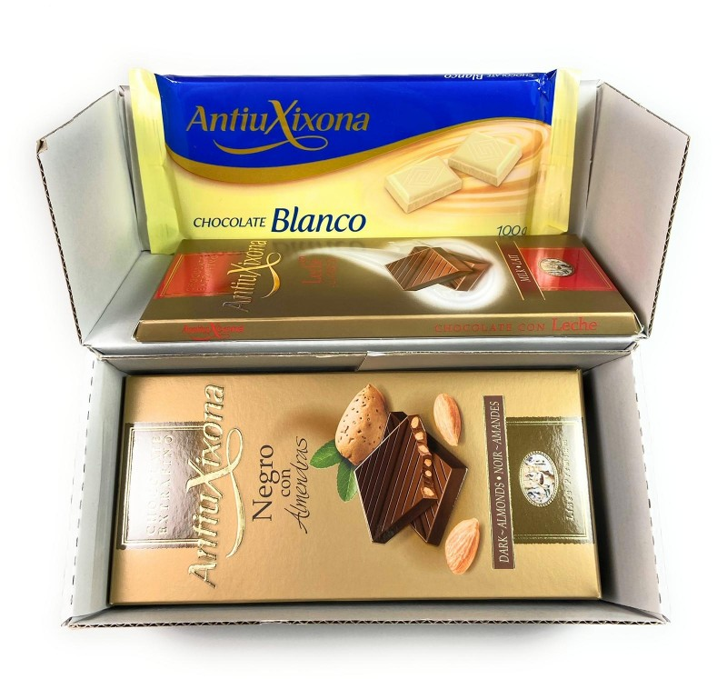 Chocolates marca Antiu Xixona