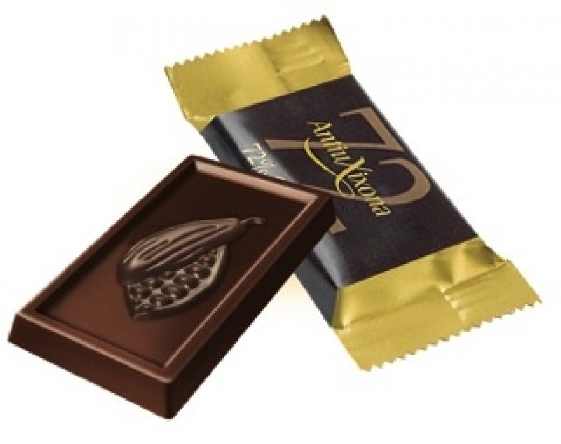 Chocolate 72% cacao individual