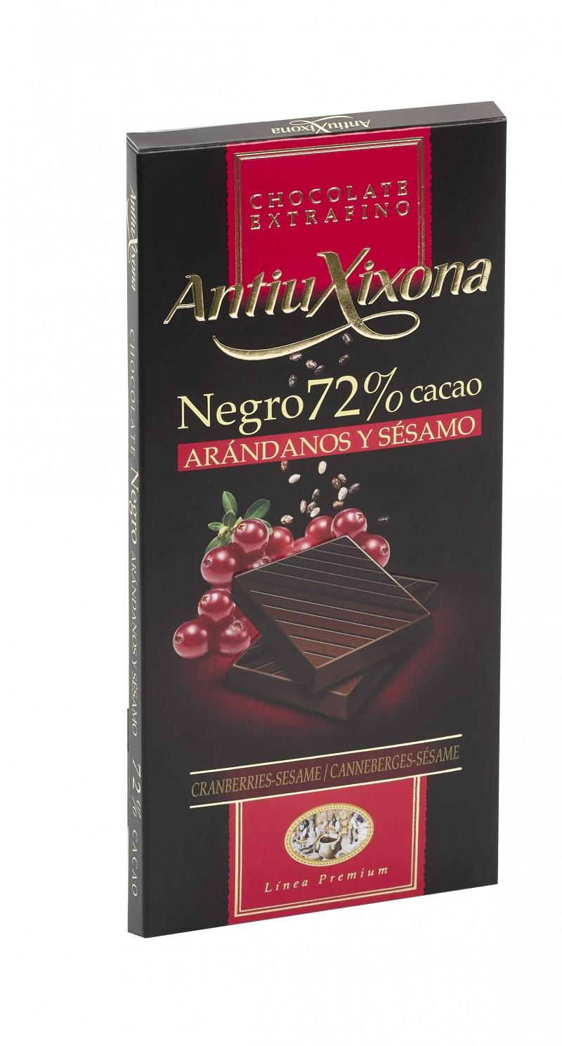 Chocolate Negro con Arándanos