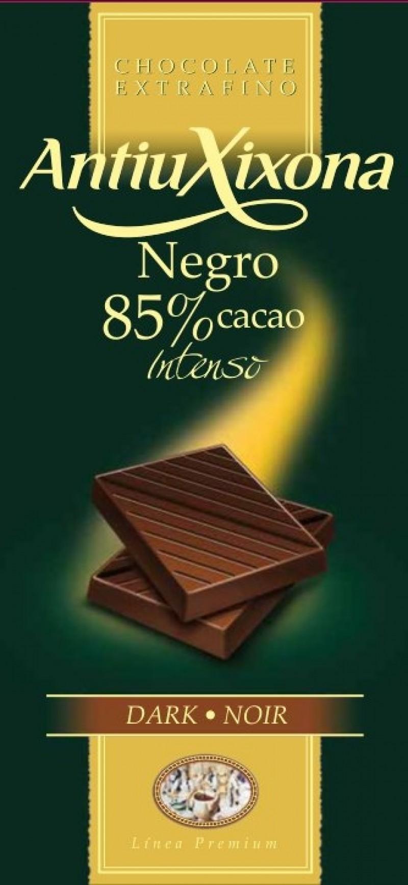 Chocolate Negro 85% cacao Mercadona