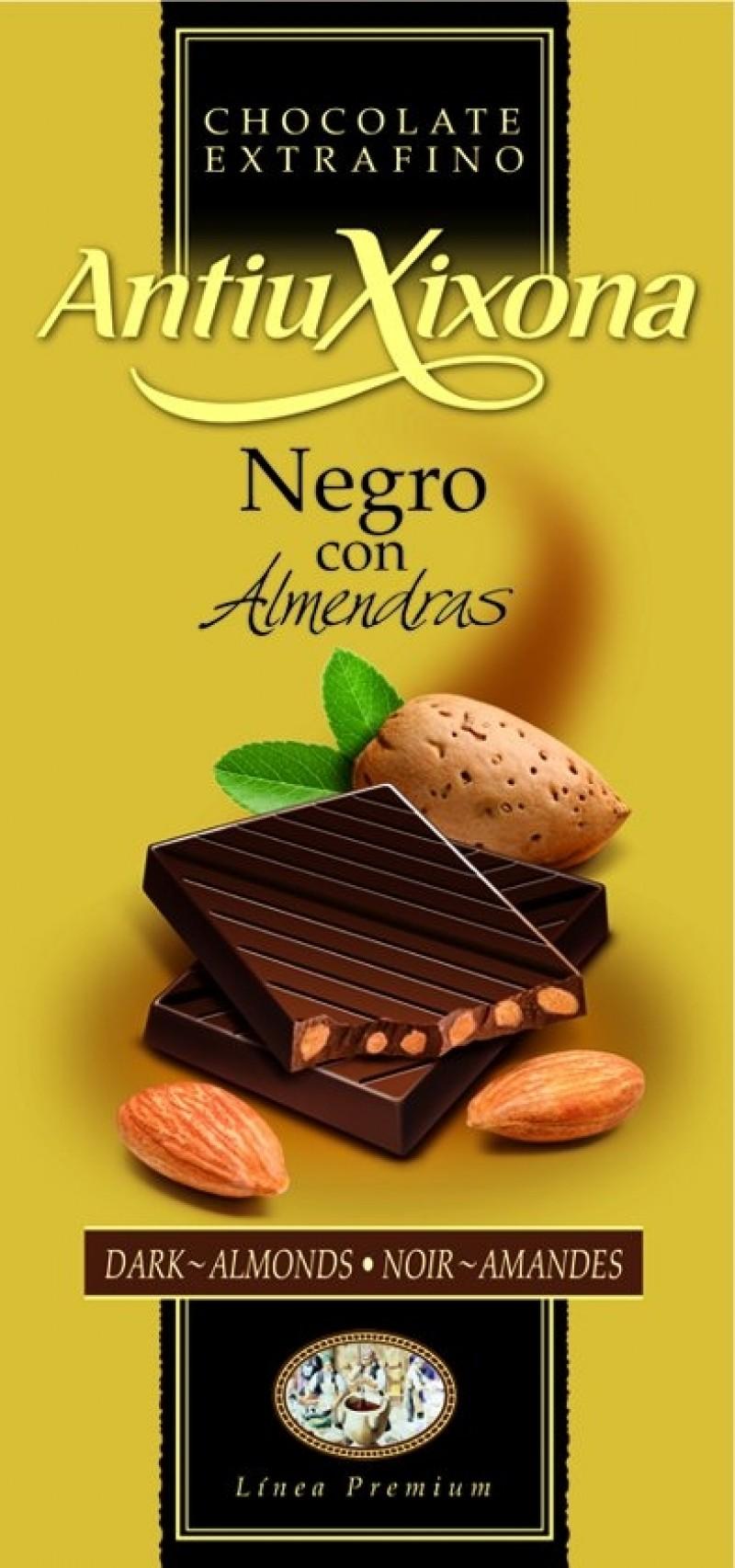Chocolate Negro con almendras Mercadona