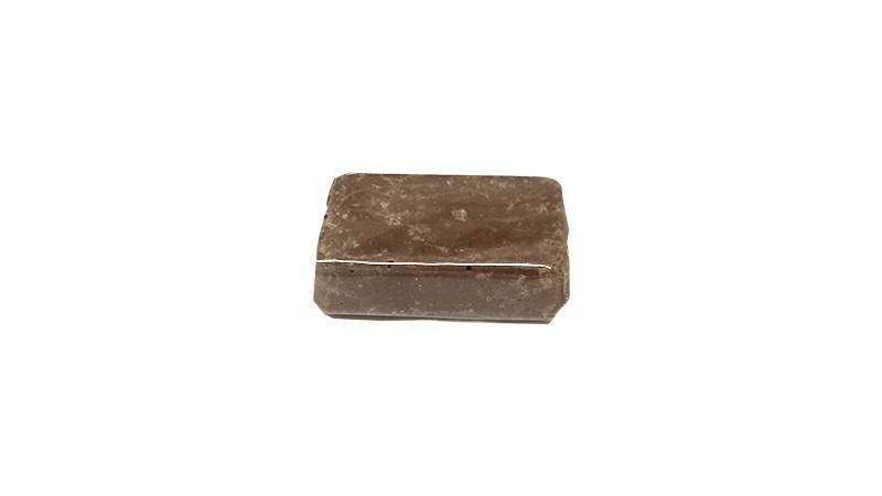 Porción turrón de chocolate crujiente