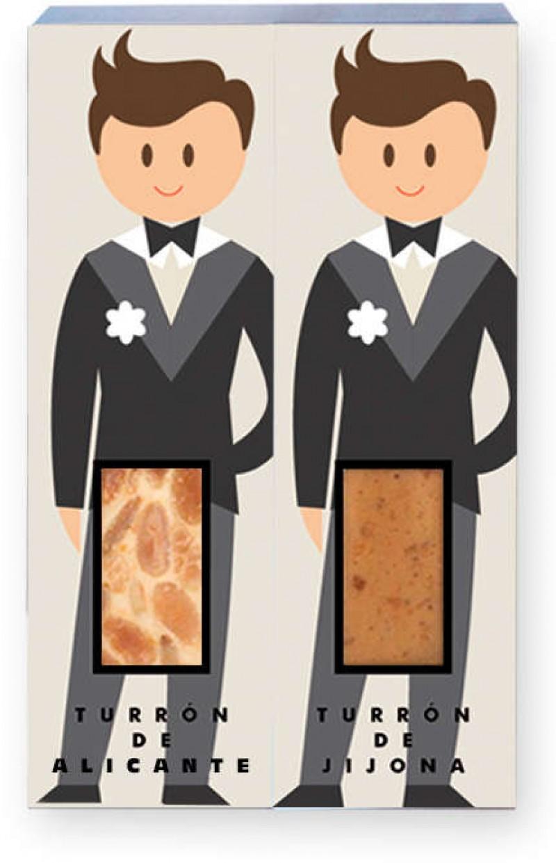 Porciones para bodas homosexuales hombres