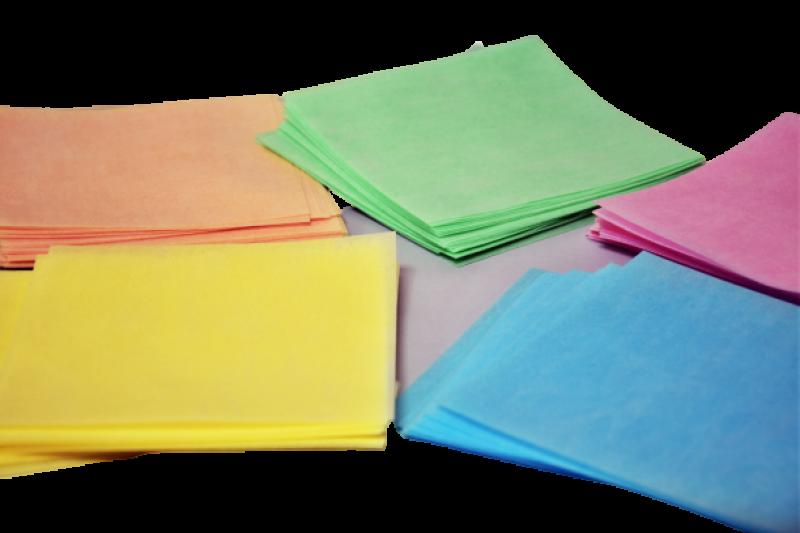 obleas en cinco colores