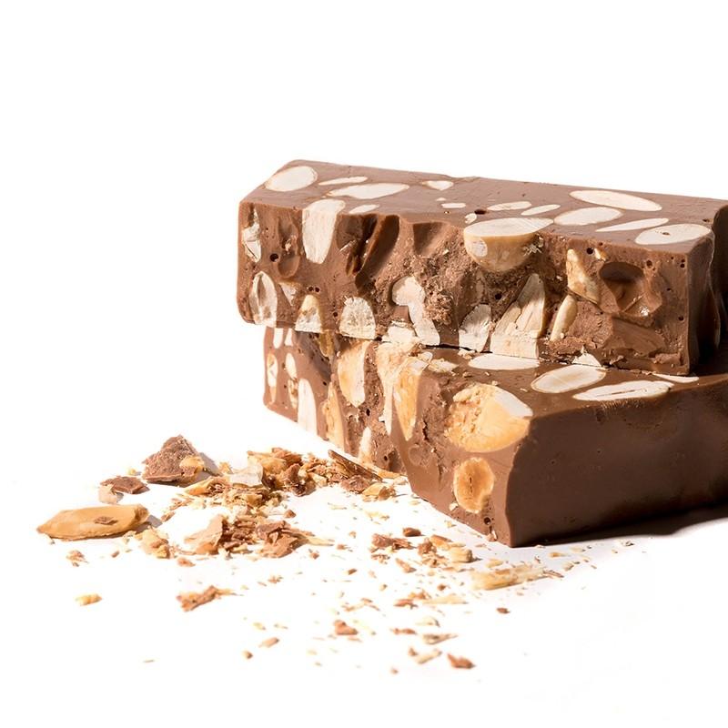 Chocolate con Almendras y leche