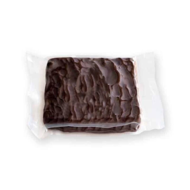 turron de coco bañado con chocolate