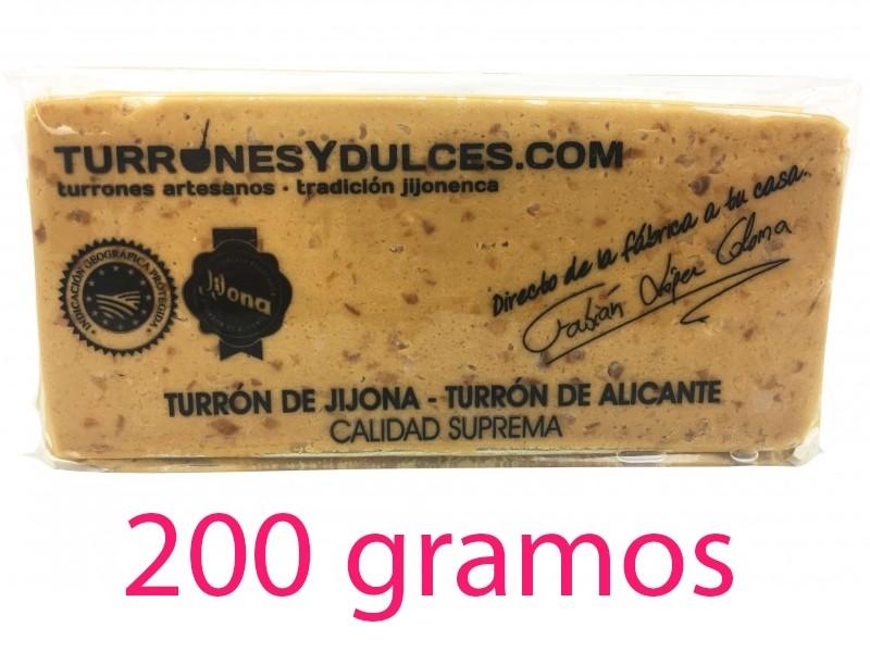 Turrón de Jijona 200 g