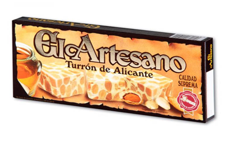 Turron_alicante_artesano_Suprema_150G