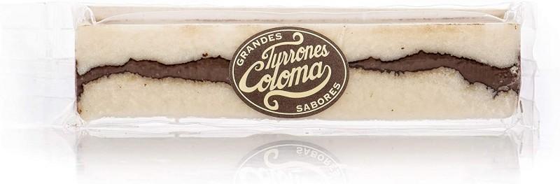 Turrón Coco y Chocolate Coloma Grandes Sabores