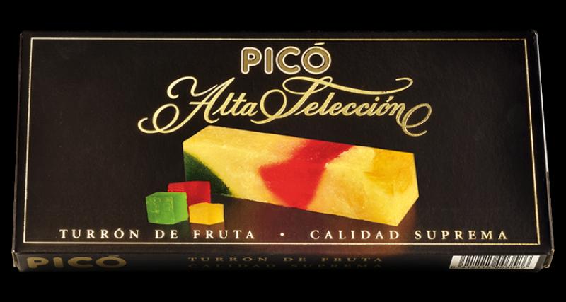 Turrón Fruta Alta Selección Picó