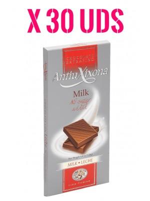 Caja chocolate con Leche sin Azúcar extrafino Premium