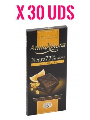 Caja Chocolate Antiu Xixona con Naranja
