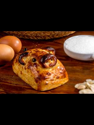 Pain de massepain au jaune d'œuf et aux fruits 500g