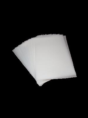 Oblea rectangular  grabada 25 hojas DINA4